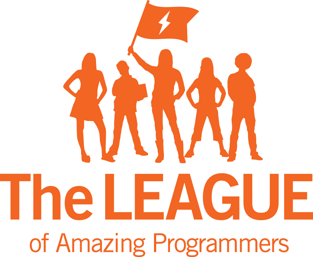 The LEAGUE of Amazing Programmers logo