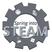 San Diego Library STEAM logo